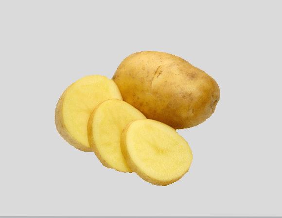Картофель, яблоки